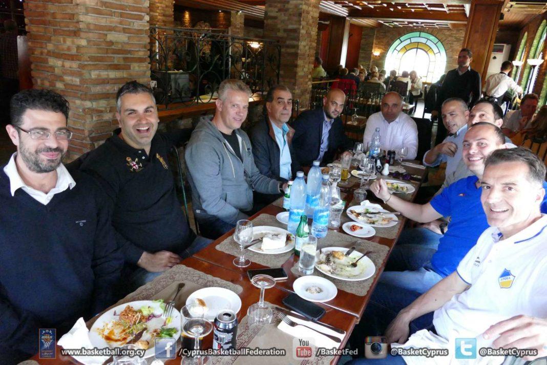 Final Four: Συνάντηση των πρόεδρων σε πολύ καλό κλίμα