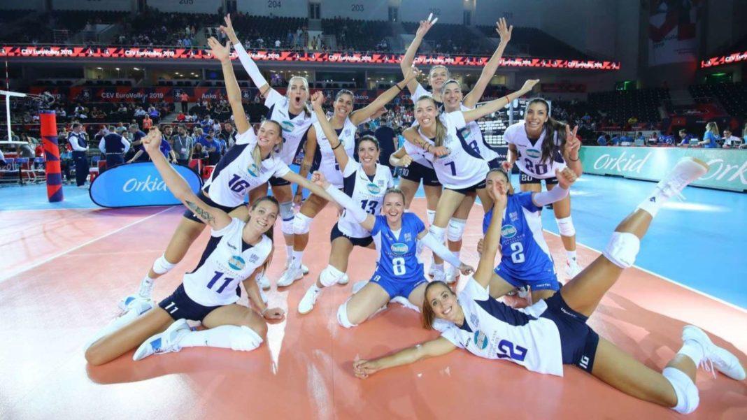 Eurovolley Γυναικών 2019 : «Κατάπιε» τη Γαλλία και βλέπει πρόκριση η Ελλάδα