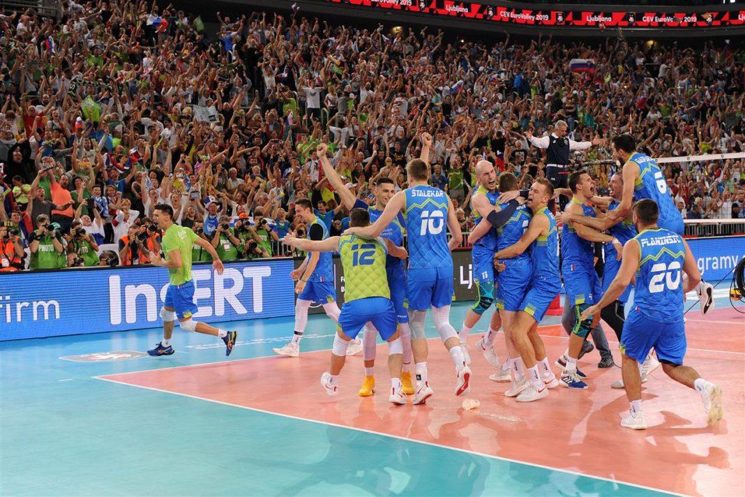 H Σλοβενία στον τελικό του Eurovolley Ανδρών