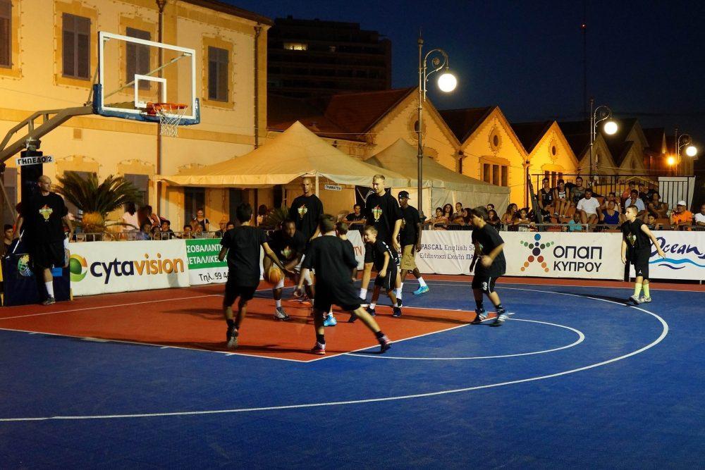 Όμορφες μπασκετικές στιγμές στη Λάρνακα