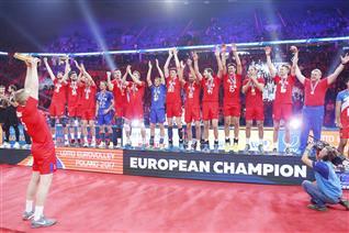 Η «χρυσή βίβλος» του Eurovolley Ανδρών