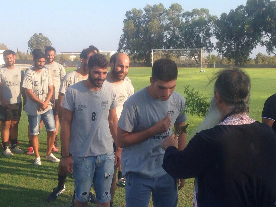 Φρέναρος FC 2000: Αγιασμός και συνεργασία με Ολυμπιακό Πειραιώς (pics)