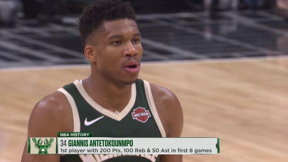 Σπάει τα κοντέρ στο NBA ο Αντετοκούνμπο!
