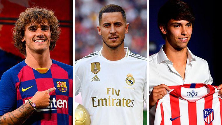 Ρεκόρ μετεγγραφών στη La Liga