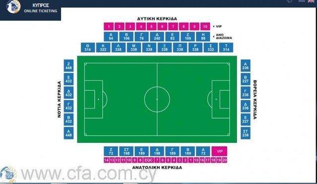 Εισιτήρια για το Super Cup μέχρι τις 19:00