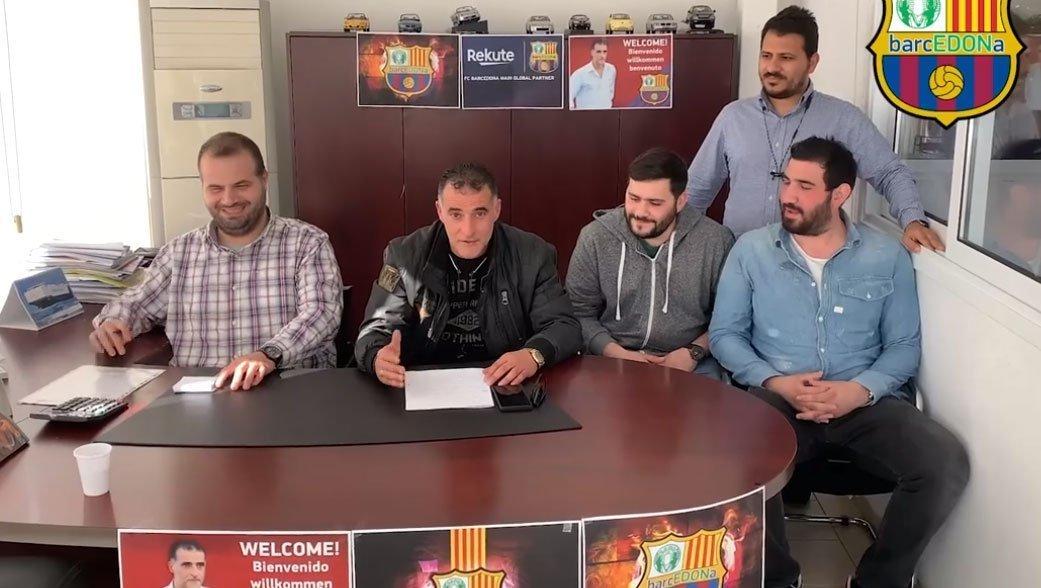 Ο Μαλέκος ανακοινώθηκε από την Barcedona FC! (video)