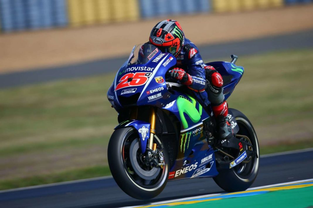 MotoGP-Λε Μανς: O Viñales στο ψηλότερο σκαλοπάτι