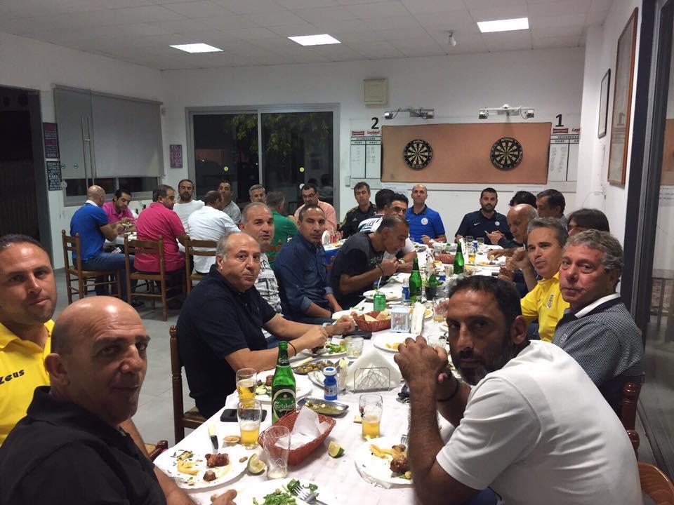 ΑΕΛ: Παιχνίδι και μετά δείπνο για τους Βετεράνους (pics)