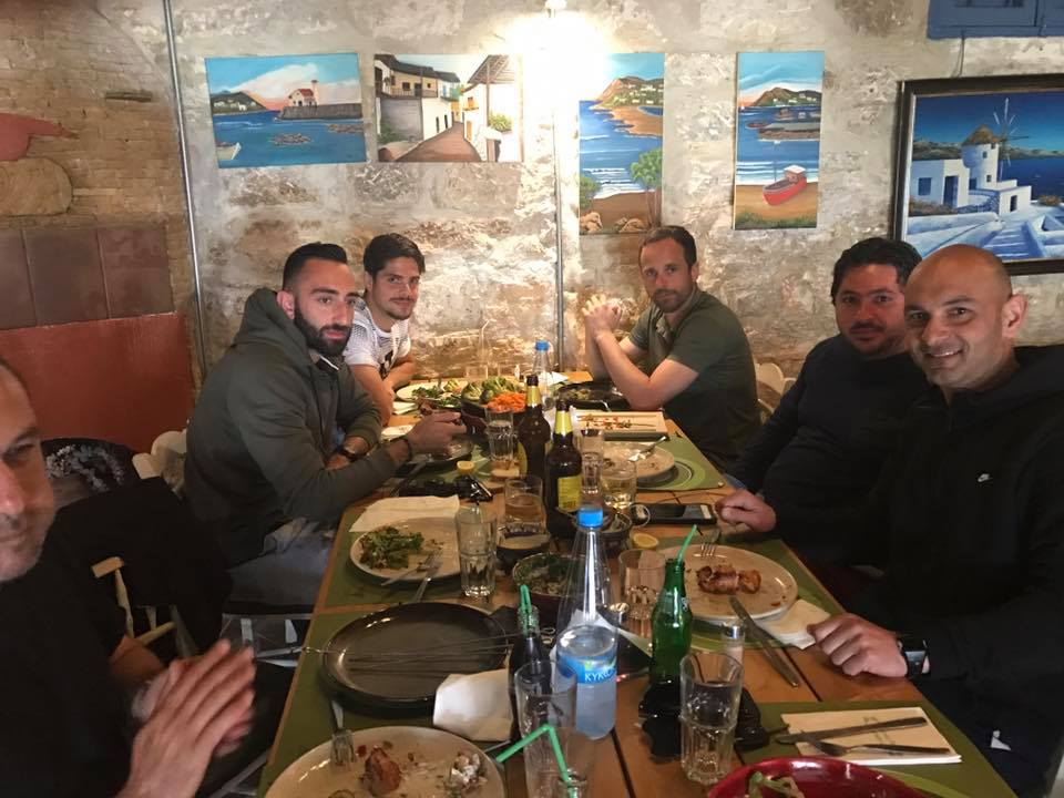 Η ομιλία και το γεύμα του Μπαλταζάρ (pics)