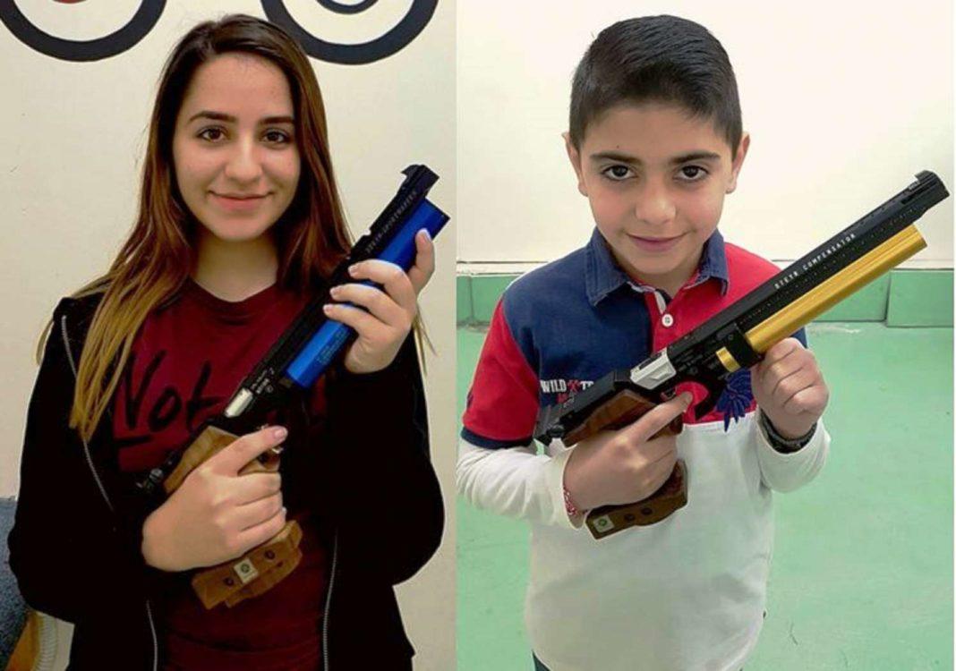 Δυο νέα Παγκύπρια ρεκόρ στο αεροβόλο πιστόλι!