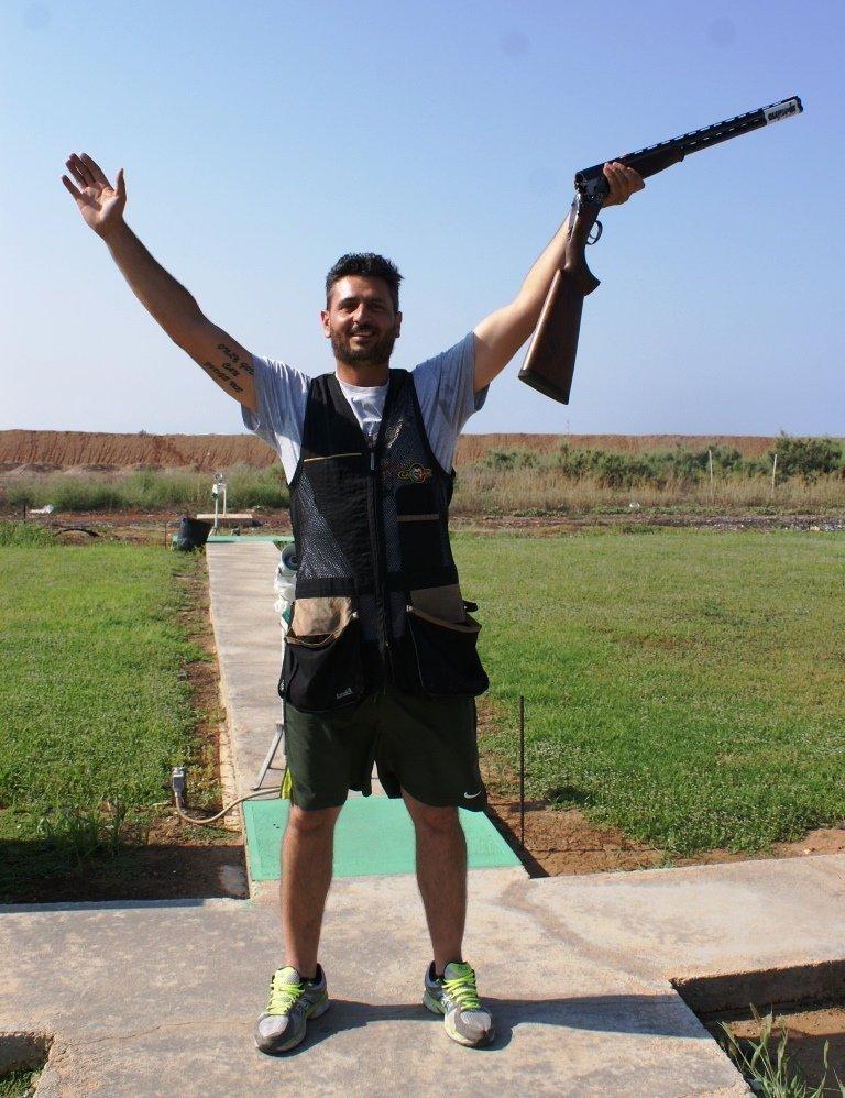 Ο Χάρης Χριστοδουλίδης πρωταθλητής σπόρτινγκ (pics)