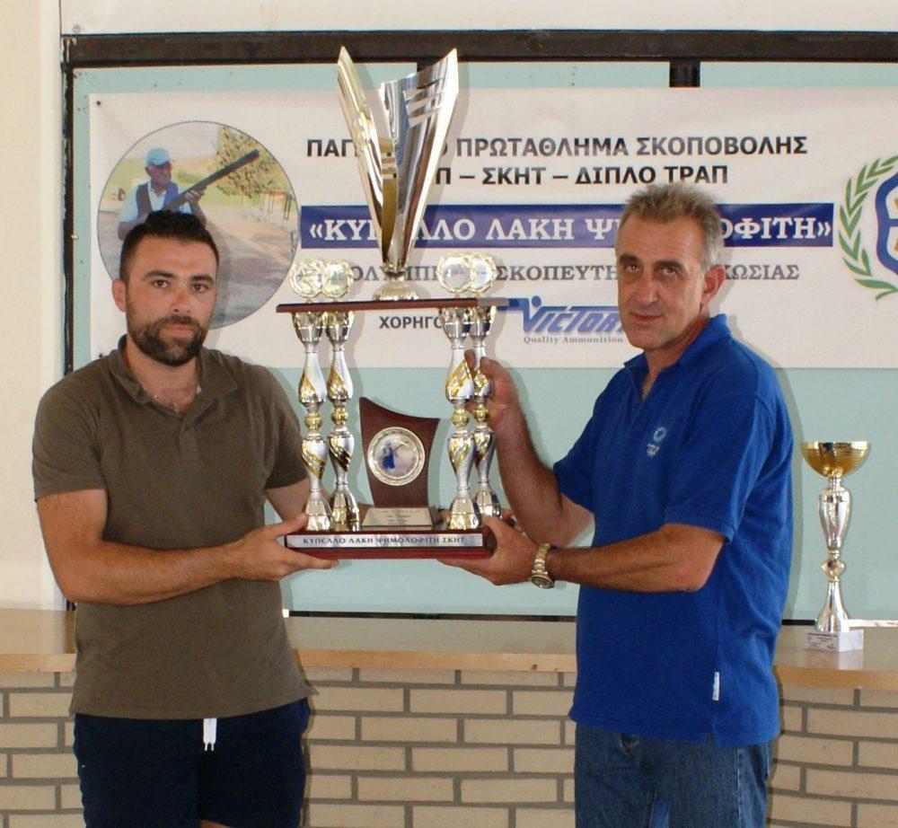 «Κύπελλο Λάκη Ψημολοφίτη»: Νικητής ο Αθανασίου