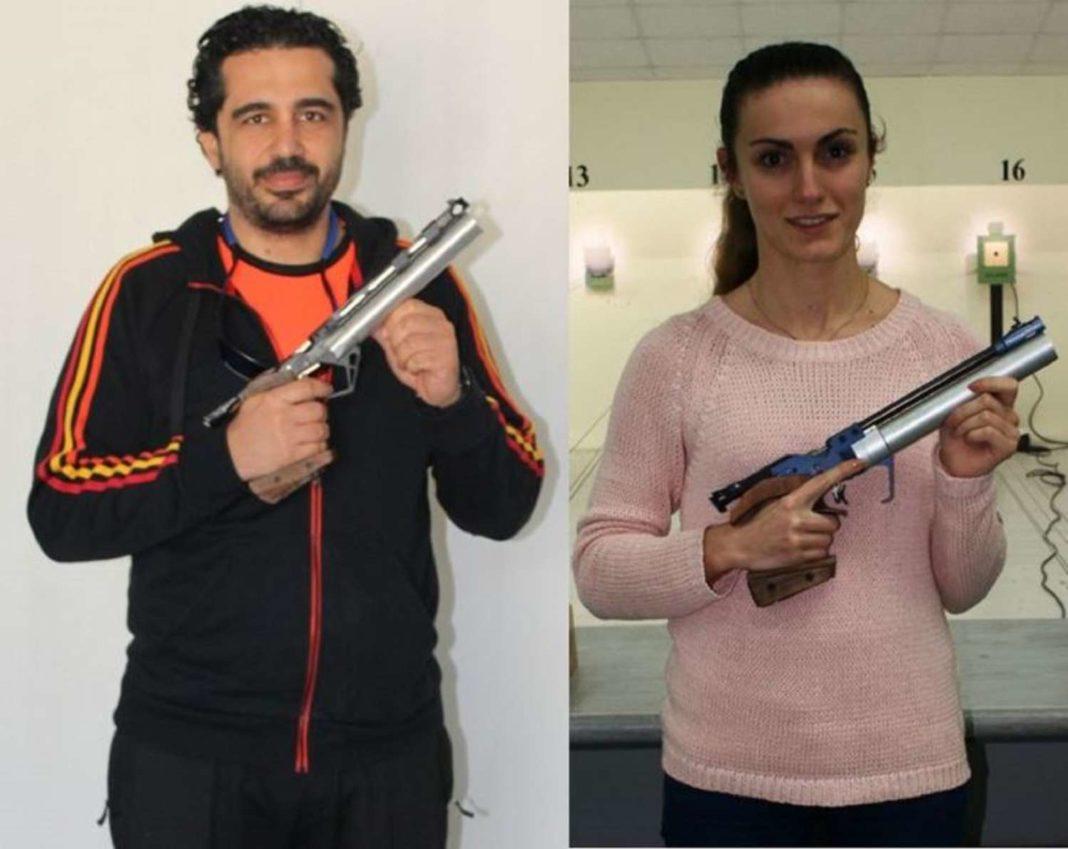Μακρυγιάννης και Πρατσή πρωταθλητές στο αεροβόλο πιστόλι!