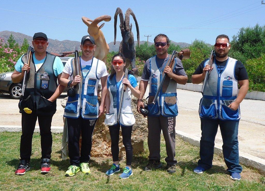 «Μάχη της Κρήτης»: Σειρά των αθλητών του σταθερού στόχου