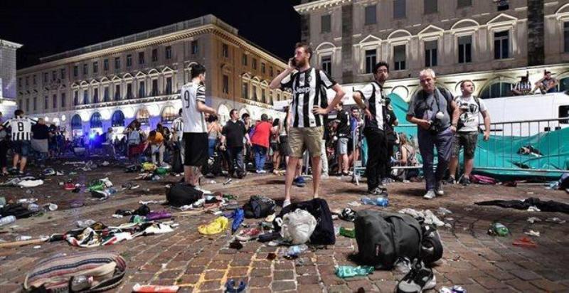 Τραγωδία: Ποδοπατήθηκαν 1400 στο Τορίνο