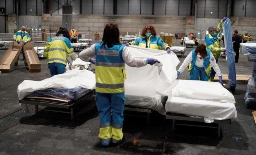 Νέα σοκαριστική καταμέτρηση στην Ισπανία: 457 νεκροί σε μια μέρα