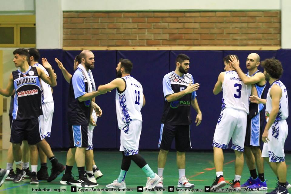 Μπάσκετ Β' Κατηγορίας: Δύο ομάδες