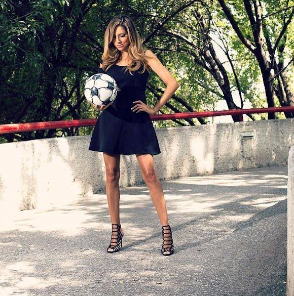 H Eύα τρέλανε κόσμο στα βραβεία της La Liga (pics)