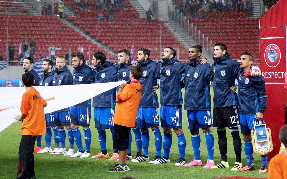 Προπόνηση στο «Bilino Polje» για την Εθνική μας ομάδα των Ανδρών