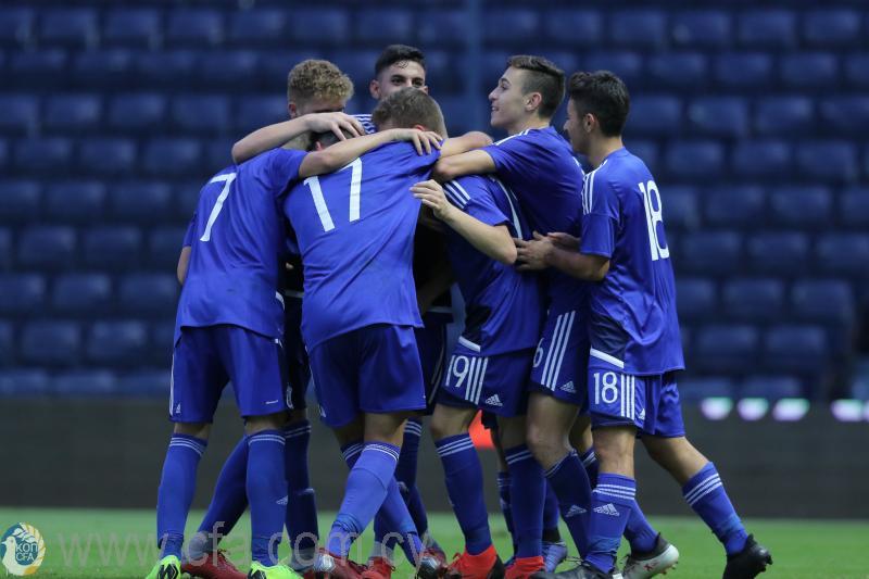 Προπονήσεις και φιλικά παιχνίδια της Εθνικής Παίδων Κ17 με τη Δανία