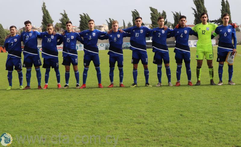 Φιλική ήττα της Εθνικής Παίδων U17 από τη Δανία