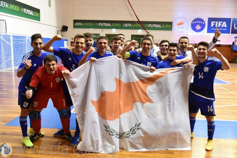 Εθνική Νέων Futsal: Μετά τον εντυπωσιακό απολογισμό στο Σαν Μαρίνο αποστολή στη Σλοβενία
