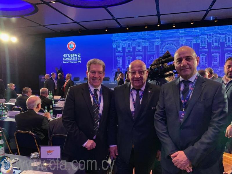 Επικυρώθηκε η επανεκλογή Γιώργου Κούμα στο Συμβούλιο της FIFA