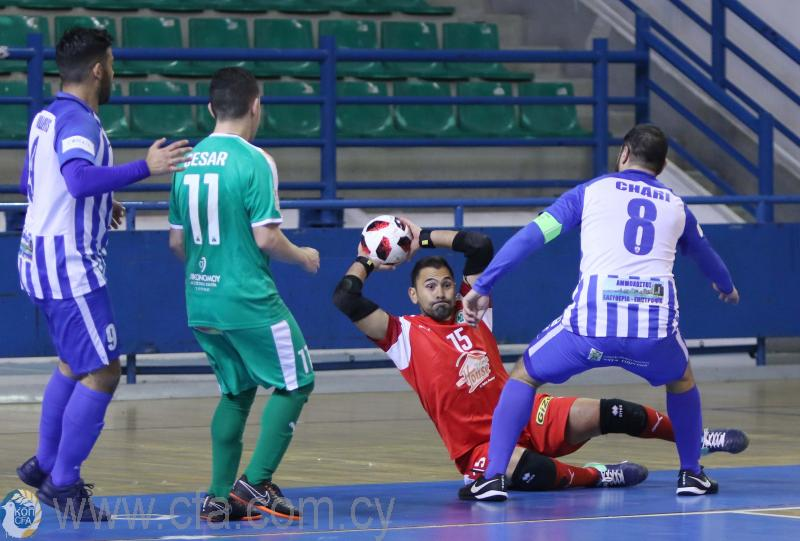 Ομόνοια - Ανόρθωση απόψε για την ημιτελική φάση του Κυπέλλου Futsal