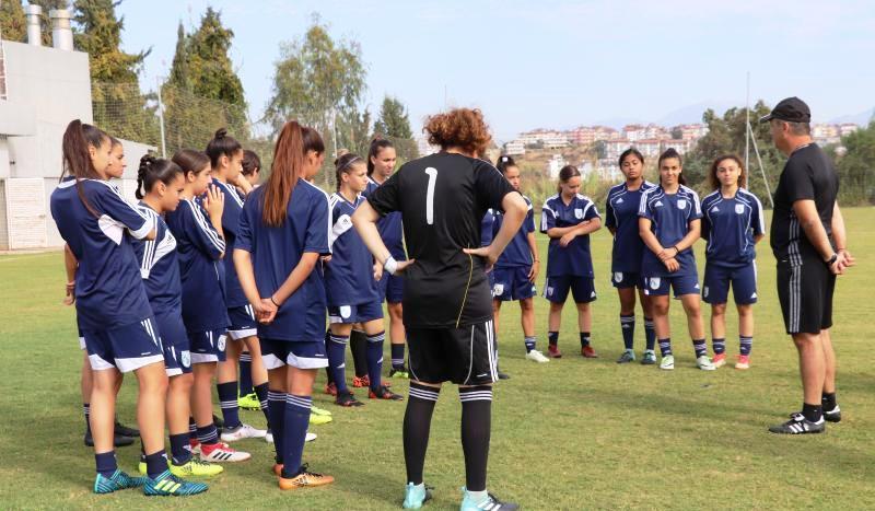 Φιλικοί αγώνες της Εθνικής Γυναικών στην Κύπρο