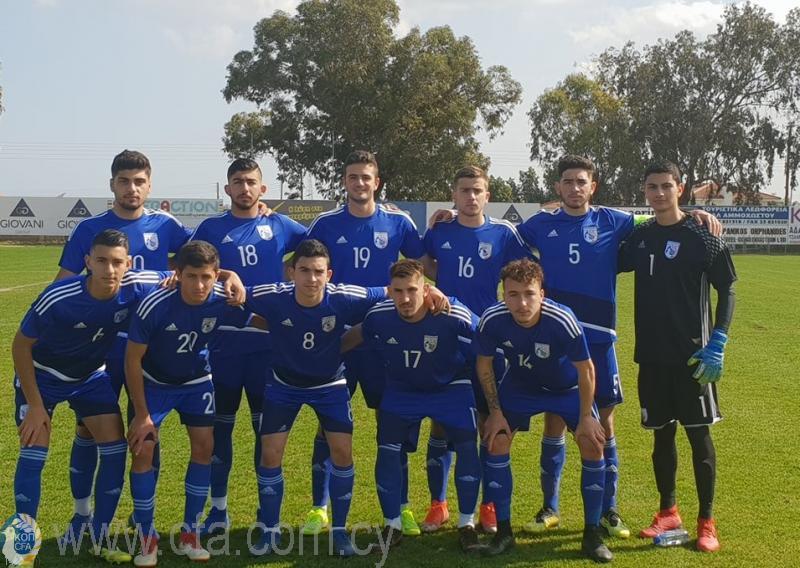 Ισόπαλη 2-2 η Εθνική Νέων στο φιλικό με την Ουγγαρία