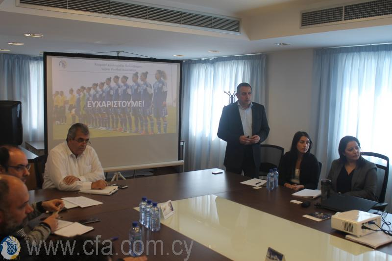 ΚΟΠ και Σωματεία συζήτησαν για την ανάπτυξη του Γυναικείου Ποδοσφαίρου