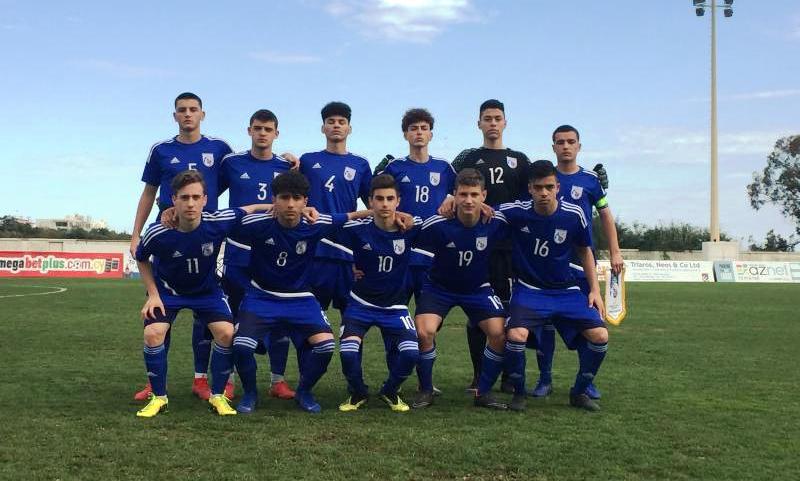 Φιλική ήττα της Εθνικής Παίδων Κ15 από την Αυστρία