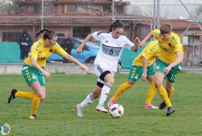 4ο Aphrodite Cup: Εθνική Γυναικών - Μάλτα