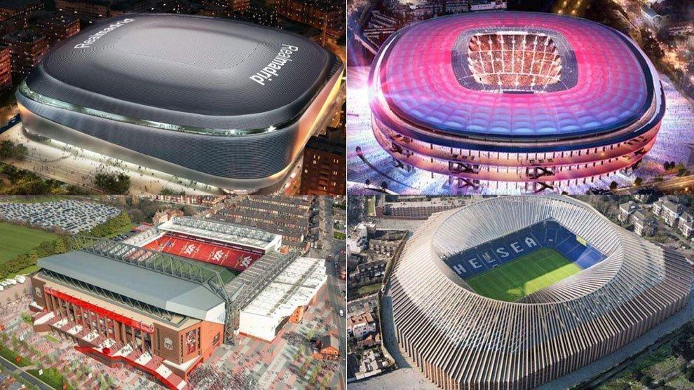 Aφιέρωμα: Το νέο Μπερναμπέου και τα γήπεδα-στολίδια που… έρχονται (vids)