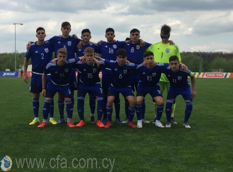 Φιλική ήττα της Εθνικής Παίδων από τη Ρωσία