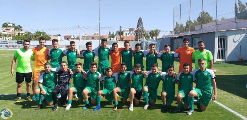Παγκύπριο U16: Ο Οθέλλος διατηρεί προβάδισμα 4 βαθμών 2 αγωνιστικές πριν το τέλος