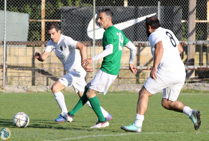 Παγκύπριο Κύπελλο Βετεράνων (αποτελέσματα 2ης αγωνιστικής)