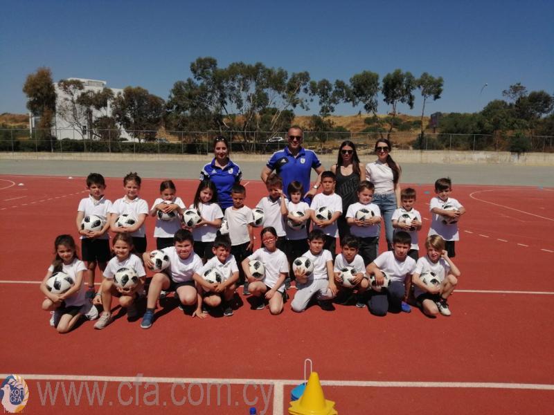 Επίσκεψη ΚΟΠ στο Δημοτικό Σχολείο Μακεδονίτισσας