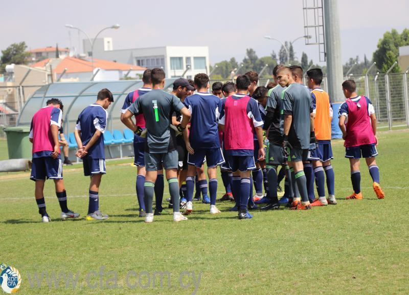 Κλήση για προπoνήσεις της Εθνικής Παίδων U15