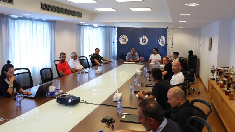 Το πρόγραμμα για τα Προαιρετικά Παγκύπρια Πρωταθλήματα Παίδων U14