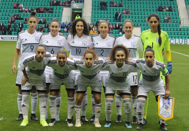 Ήττα της Εθνικής Γυναικών στο Εδιμβούργο σε ιστορικό παιχνίδι για την Κύπρο