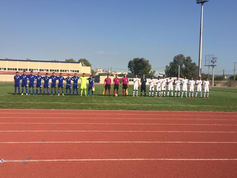 Τα στιγμιότυπα από τη φιλική νίκη της Εθνικής Παίδων U17 επί της Ελλάδας