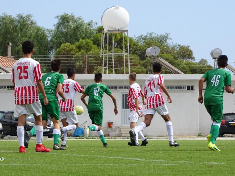 Παγκύπριο Πρωτάθλημα Παίδων U17 (αποτελέσματα 2ης αγωνιστικής)