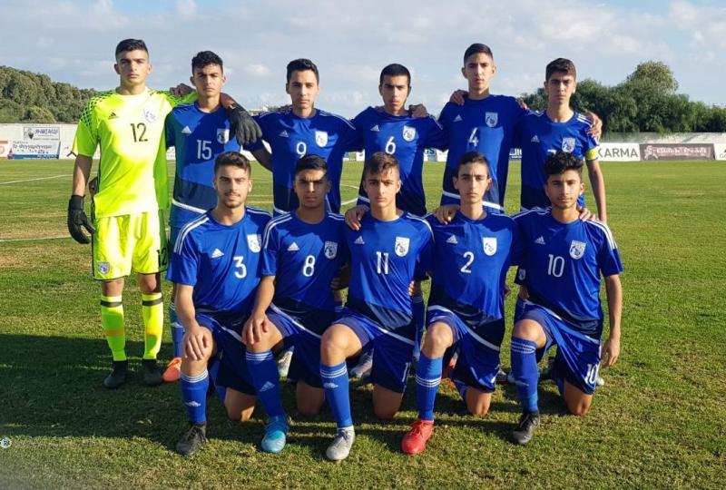 Ισόπαλο το πρώτο φιλικό της Εθνικής Παίδων U14