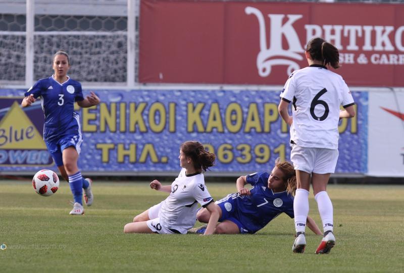 Τον Απρίλιο με δύο παιχνίδια στην Κύπρο η συνέχεια για την Εθνική Γυναικών