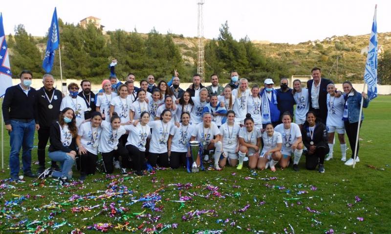 Γυναικείο: Πρωταθλήτριες οι Apollon Ladies με δεκάρα επί της Ομόνοιας