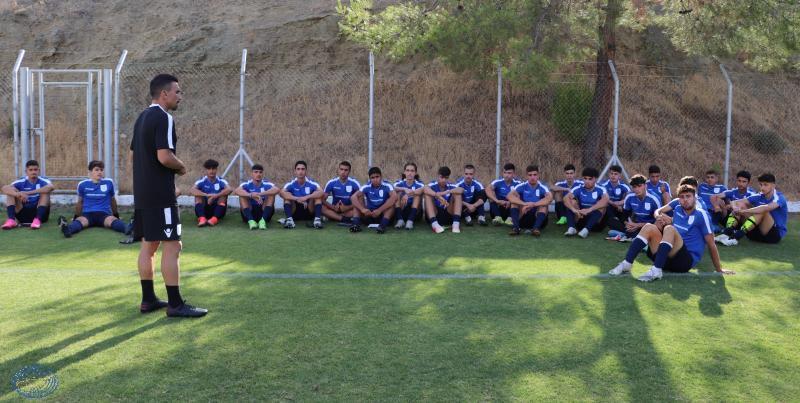 Σε ρυθμούς προετοιμασίας η Εθνική Παίδων Κ17