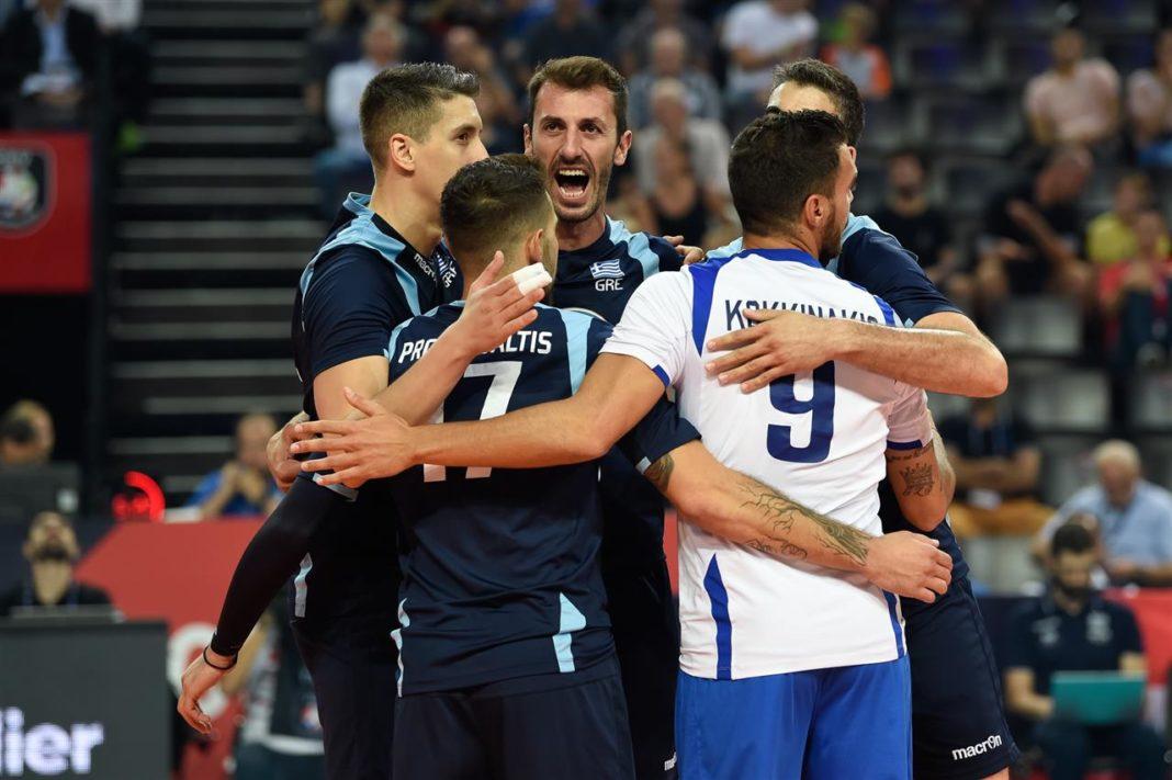 Eurovolley Aνδρών 2019: Στις «16» καλύτερες της Ευρώπης η Ελλάδα!