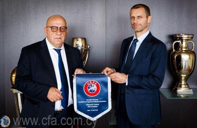 Η UEFA στο πλευρό του νέου προέδρου της ΚΟΠ