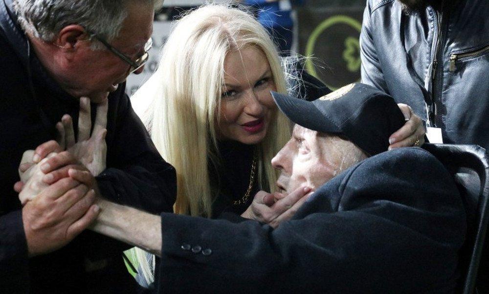Συγκλονιστικές φωτογραφίες με τον τεράστιο Ευγένιο Γκέραρντ στο «Γεντί Κουλέ»!